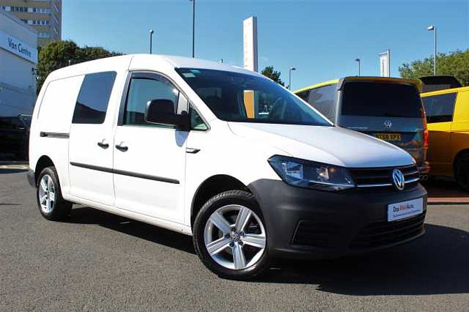 Volkswagen Caddy Maxi C20 Maxi Kombi EU6 102 PS 2.0 TDI BMT 5sp Manual + A/C