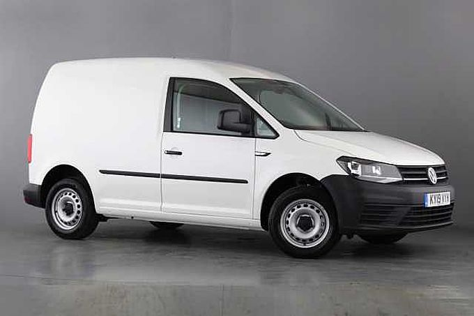 Volkswagen Caddy SWB EU6 102 PS 2.0 TDI BMT 5sp Manual