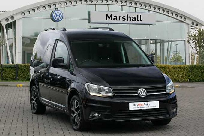 Volkswagen Caddy 2.0 TDI (102PS) C20 Black Edition BMT PV