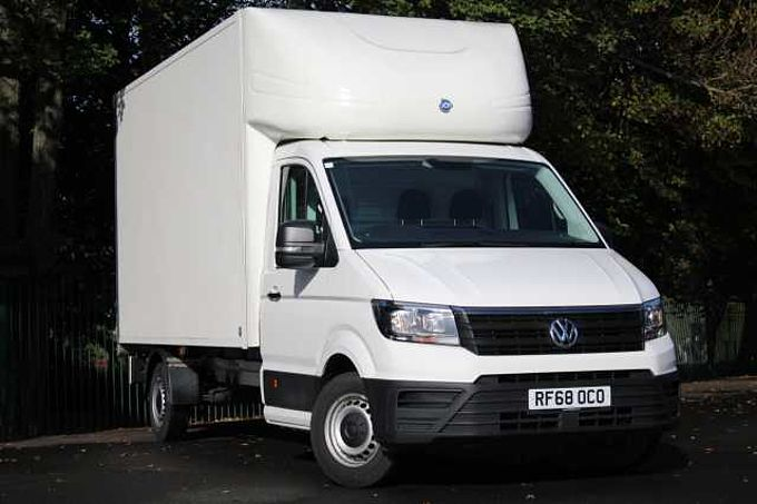 Volkswagen Crafter Luton with 500kg Tail lift