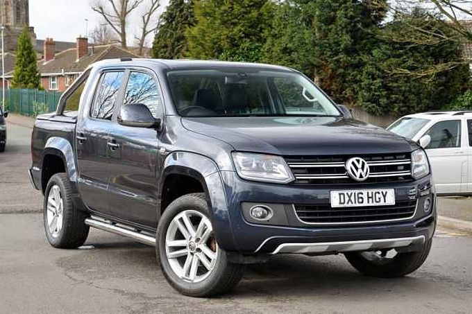 Volkswagen Amarok 2.0Bitdi 180PS Highline BMT 4MOTION Pick-Up AUTO