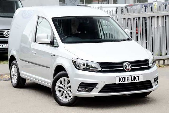 Volkswagen Caddy 2.0 TDI (102PS) C20 Highline BMT EU6 ULEZ Compliant Panel Van Cheapest in the UK