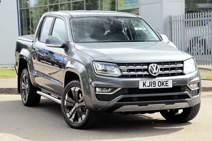 Volkswagen Amarok A33 Diesel D/Cab Pick Up Highline 3.0 V6 TDI 258 BMT 4M Auto Electric Seats 20' Alloys