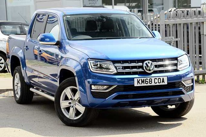 Volkswagen Amarok Highline 3.0 V6TDI 224PS EU6BMT 4Motion  ULEZ Compliant Low Miles Great Saving!!