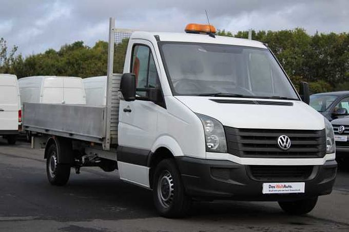 Volkswagen Crafter 2.0TDi (136PS) CR35 MWB Dropside