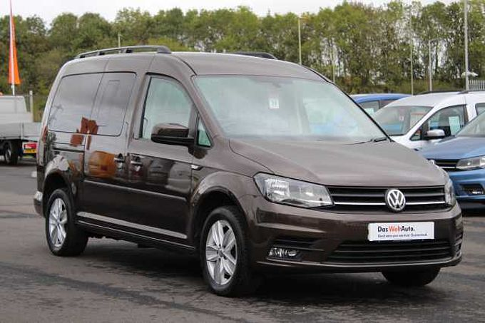 Volkswagen Caddy Maxi Life 2.0 TDI 102PS C20 EU6 7 Seats DSG