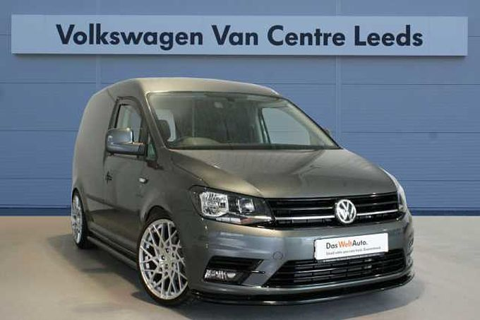 Volkswagen Caddy 2.0 TDI 102PS C20 H/line PV *R Edition**LEATHER**LINE OUT**SAT NAV*