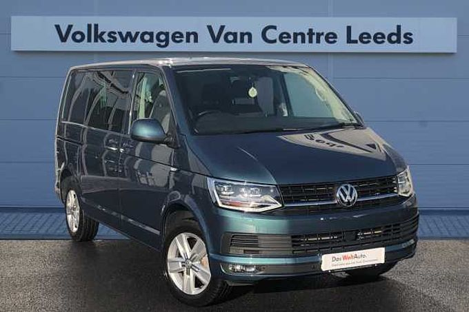 Volkswagen Transporter Kombi 2.0TDI 150 T32 Hline SWB *DSG*SAT NAV*COMFORT DASH*LED LIGHTS*HEATED SEATS