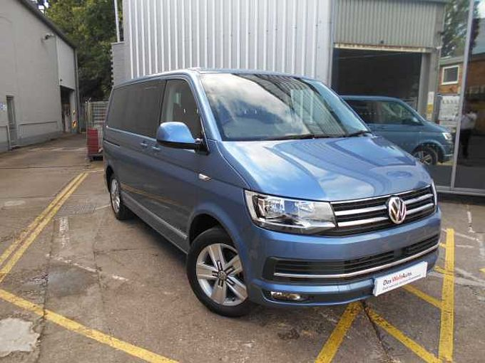 Volkswagen Caravelle Executive 2.0 TDi 150PS SWB EU6 BMT DSG **Nav**Heated Seats**Electric Rear Doors**F & R Sensors With Camera**