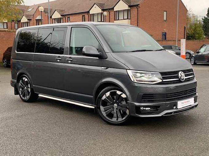 Volkswagen Transporter Kombi 2.0BiTDI 204PS Eu6 T30HL SWB DSG **20' Alloys**Coilovers**Nav**Body Kit**HUGE SPEC**