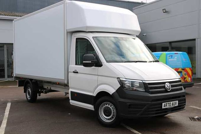 Volkswagen Crafter CR35 Luton Single Cab LWB 140 PS 2.0 TDI 6sp Manual FWD [AVAILABLE JUNE]