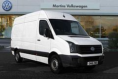 Volkswagen Crafter 2.0TDi (109PS) CR35 MWB High Roof Panel Van with AIR CON