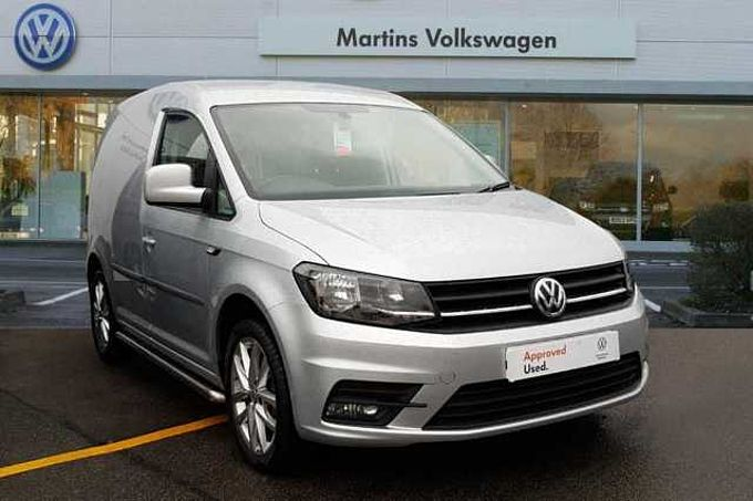 Volkswagen Caddy C20 Panel van Highline SWB EU6 125 PS 1.4 TSI BMT 6sd Manual