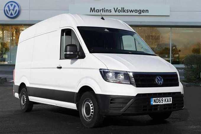 Volkswagen Crafter CR35 Panel van Startline MWB 140 PS 2.0 TDI 8sp Auto FWD **Business Pack**