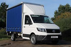 Volkswagen Crafter Cr35 Mwb Diesel 2.0 TDI 140PS Startline Curtain side Cab