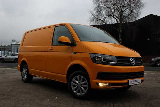 Volkswagen Transporter PV 2.0TDI  102PS T28 Highline BMT SWB-Chrome Yellow-Tailgate