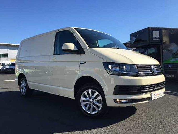 Volkswagen Transporter 2.0TDI 102PS T28 Highline BMT SWB-Light Ivory Cream-Tailgate