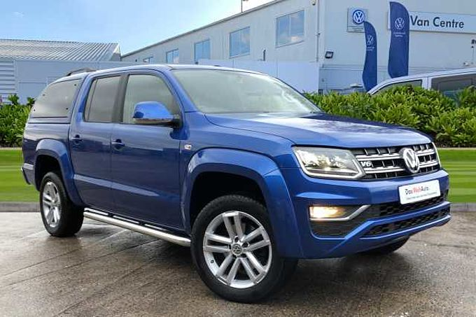 Volkswagen Amarok Highline 3.0 V6TDI 224PS EU6 BMT 4M-Nav Tech Pack + Truckman Top