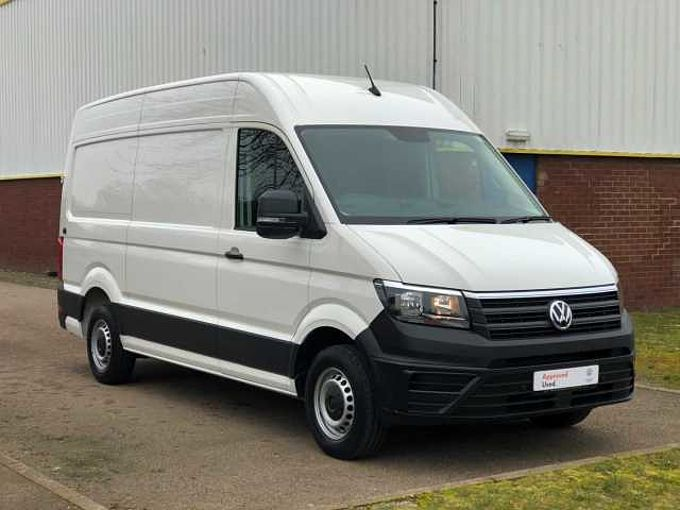 Volkswagen Crafter CR35 Panel van Trendline MWB 102 PS 2.0 TDI 6sp Manual FWD-Business Pack A/C