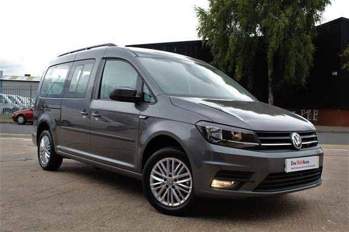 Volkswagen Caddy Maxi C20 Maxi Life 102 PS 2.0 TDI 5sp Manual-7 Seats + Sensors