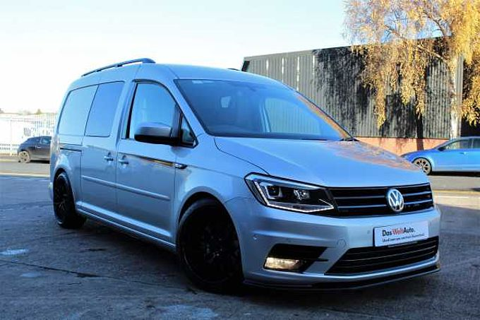 Volkswagen Caddy Maxi C20 Diesel 2.0 TDI 150PS Kombi Van DSG-One Off Show Vehicle