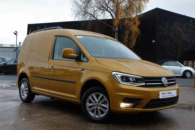 Volkswagen Caddy 2.0 TDI 102PS C20 Highline BMT Panel Van-NAV