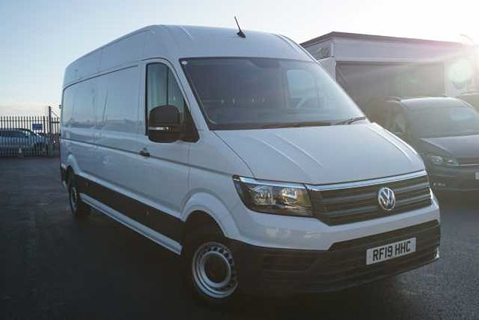 Volkswagen Crafter Cr35 Lwb Diesel 2.0 TDI 140 PS Trendline High Roof Van Auto