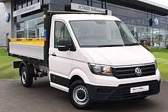 Volkswagen Crafter CR35 Tipper MWB 140 PS Business Pack A/C