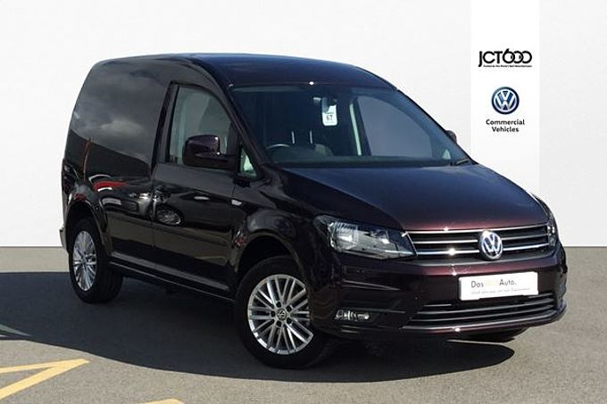Volkswagen Caddy C20 PV Highline SWB EU6 102 PS 2.0 TDI BMT 5sp Manual