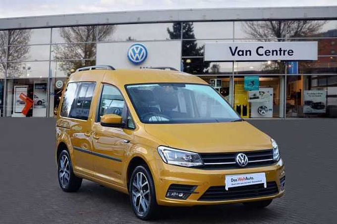 Volkswagen Caddy Life 2.0TDI (102PS)(Eu6dT) C20 Mini Bus 5s