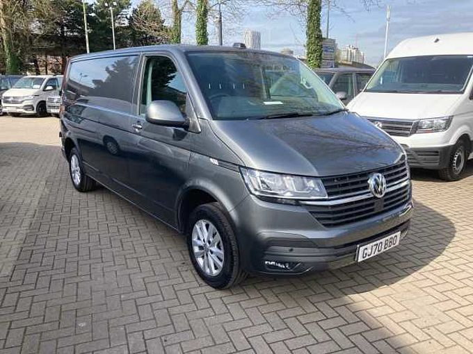 Volkswagen Transporter 2.0TDI 110ps T30 Highline BMT LWB Panel Van T6.1