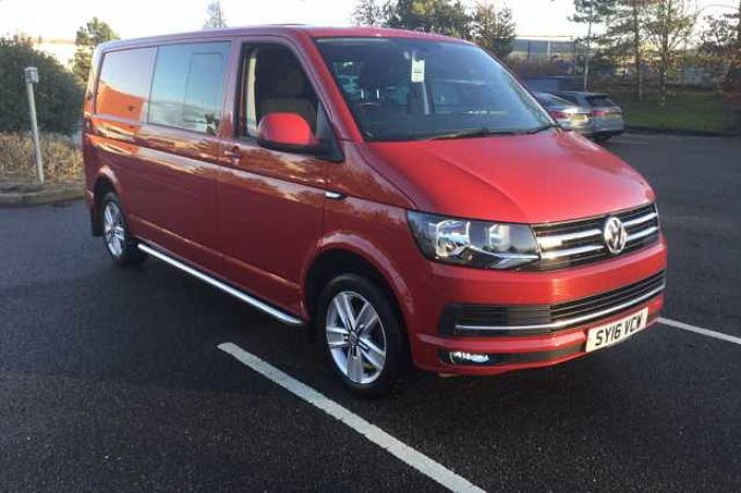Volkswagen Transporter Kombi T32 Highline 2.0 TDI 140PS 4MOTION