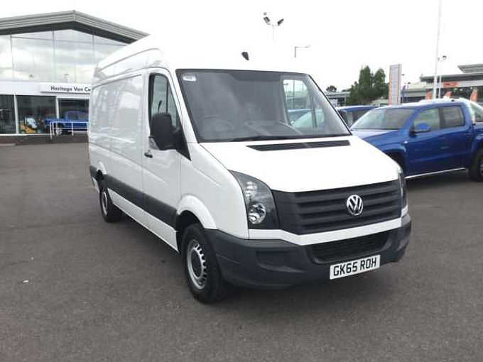 Volkswagen CR35 Panel Van Startline MWB 136ps CR35 Panel Van Startline MWB 136ps