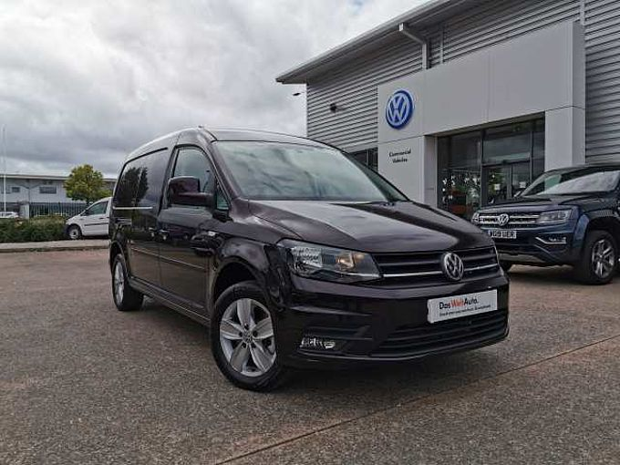 Volkswagen Caddy Maxi C20 Diesel 2.0 TDI BlueMotion Tech 150PS Highline Van DSG