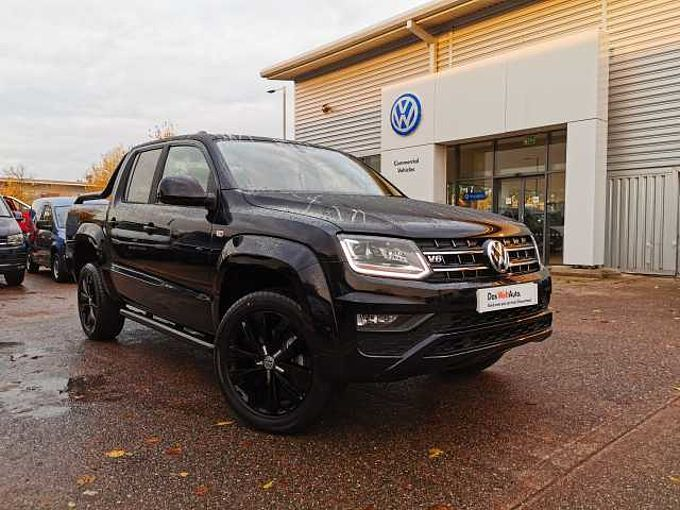Volkswagen Amarok Black Edition 258ps 8sp auto