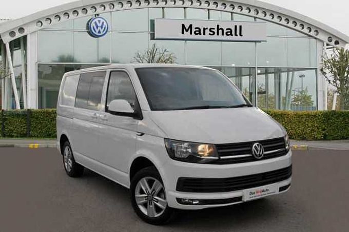 Volkswagen Transporter T32 Highline Kombi SWB 2.0 TDI 204 BHP DSG ( GREAT SPEC / TWIN SLIDING DOORS)
