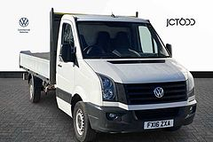 Volkswagen Crafter CR35 LWB  2.0 TDI 136PS  'Engineered to Go'