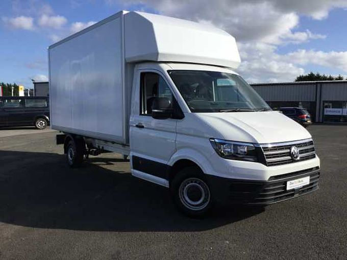 Volkswagen Crafter Luton Cr35 LWB 140PS Crafter Box/Luton