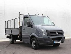 Volkswagen Crafter Dropside 2.0TDi (109PS) CR35 MWB Chassis Cab