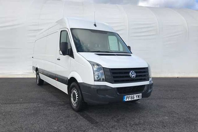 Volkswagen Crafter LWB Panel Van LWB High Roof 2.0 TDU 140 BHP