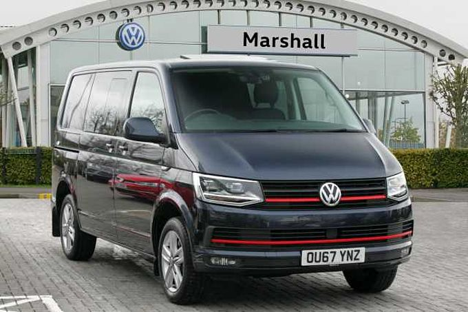Volkswagen Transporter T32 Swb Diesel 2.0 BiTDI BMT 204 Highline Kombi Van DSG - HUGE SPECIFICATION & LEATHER
