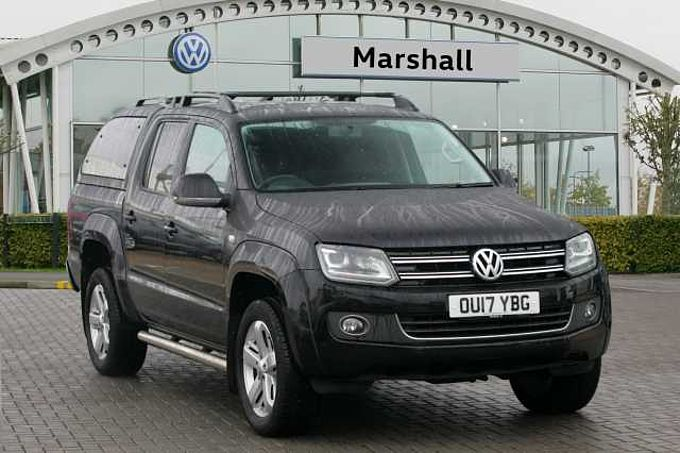 Volkswagen Amarok 2.0BiTDi 180 Highline BMT 4MOTION Pick-Up Auto - NO VAT - TRUCKMAN CAB