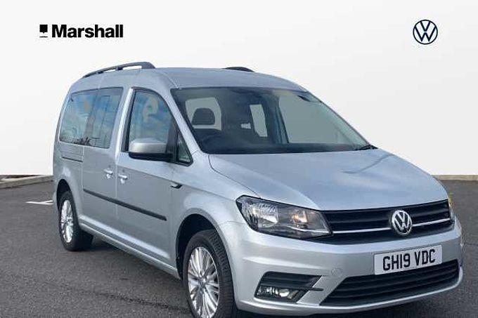 Volkswagen Caddy Maxi Life C20 Diesel Estate 2.0 TDI 150PS DSG 5dr - 7 SEATS , NAV & REAR SENSORS