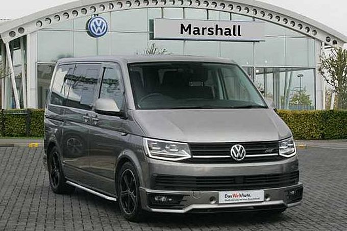 Volkswagen Transporter T32 Swb Diesel 2.0 BiTDI BMT 204 Highline Kombi Van - HUGE SPECIFICATION - NO VAT - NO VAT