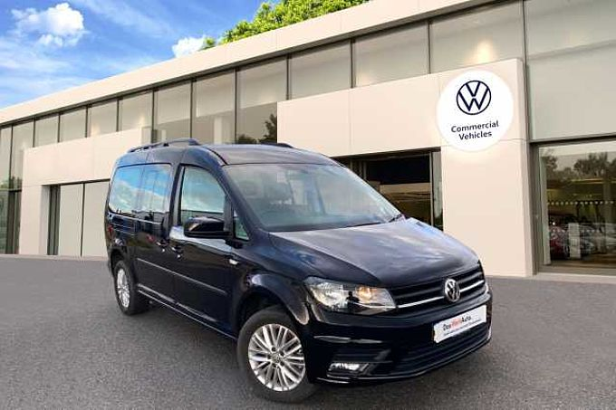 Volkswagen Caddy Maxi Life 2.0TDI (150PS)(Eu6) 6sp DSG C20 Mini Bus 7