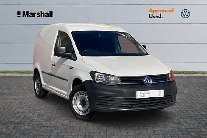 Volkswagen Caddy Startline 2.0 TDI (102PS) C20 BMT * Bluetooth, Heated Mirrors *