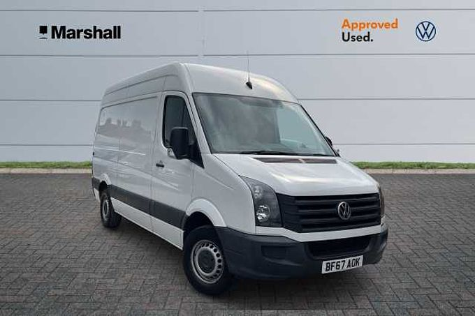 Volkswagen Crafter Cr35 Mwb Diesel 2.0 TDI BMT 109PS Van * Cruise Control, Wooden Load Floor Cover *