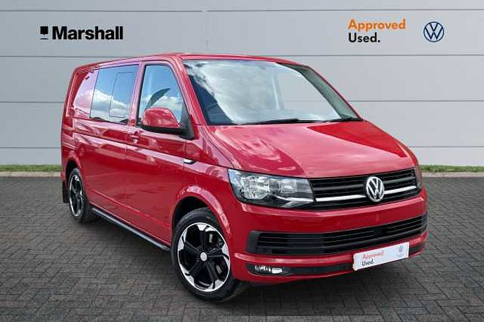 Volkswagen Transporter T30 Kombi 2.0TDI 150 Highline SWB DSG * Front & Rear Sensors, Air Con, Alloys *