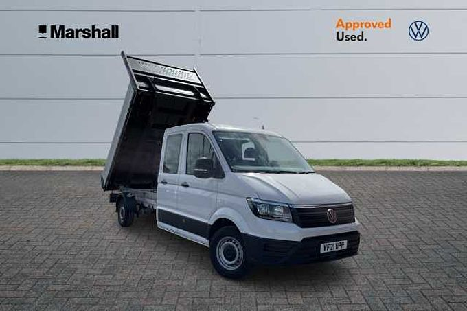 Volkswagen Crafter CR35 Double Cab ETG Tipper 2.0TDI 140PS LWB * Upgraded Radio, Business Pack, Lights And Vision Pack *
