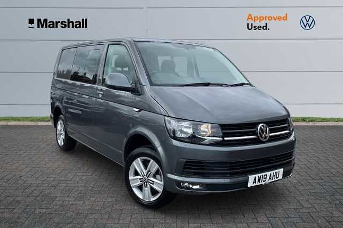 Volkswagen Transporter T32 Kombi Highline DSG 2.0TDI 150 SWB * Upgraded Media System, App Connect, Towbar, Cab Carpet *